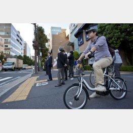 企業が自転車通勤を認める動きが加速する(C)日刊ゲンダイ