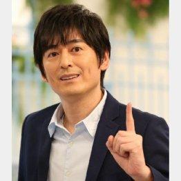 井ノ原から番組を引き継ぐ博多大吉(C)日刊ゲンダイ