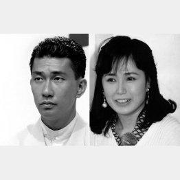現地で働く日本人青年役の中井貴一とヒロインの藤谷美和子(C)日刊ゲンダイ