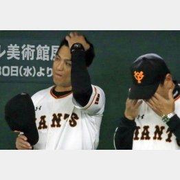 浮かない表情の由伸監督(C)日刊ゲンダイ