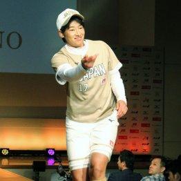 新ユニホームで登場した上野由岐子