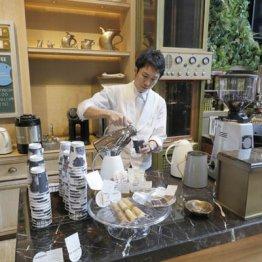 トリバコーヒー<上>銀座で100円コーヒーを提供できる秘密