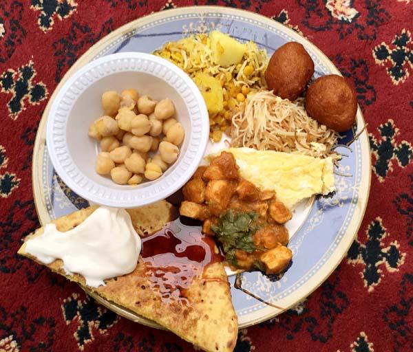 シェイク・モハメド文化理解センターの料理(提供写真)