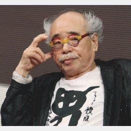 写真家のアラーキーこと荒木経惟氏(C)日刊ゲンダイ