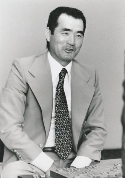 長嶋茂雄(撮影・田丸昇)