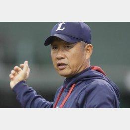 西武・辻監督(C)日刊ゲンダイ