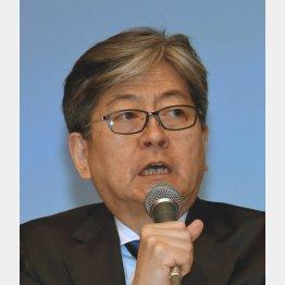 マネックスグループ松本社長(C)日刊ゲンダイ
