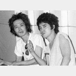 「雨あがりの夜空に」(1980年、作詞・作曲=忌野清志郎、仲井戸麗市)(C)共同通信社