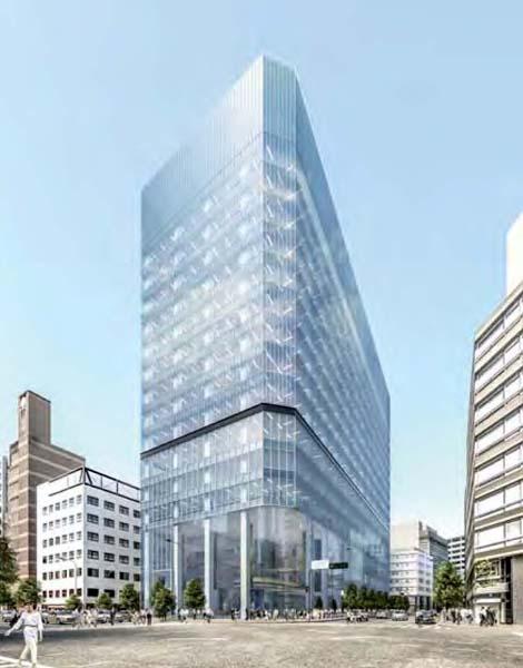 高さ90メートルのビルに生まれ変わる(国家戦略特区への提出資料)