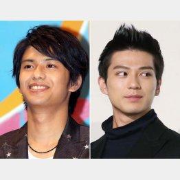 森崎ウィン(左)と新田真剣佑(C)日刊ゲンダイ