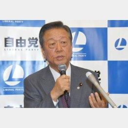 小沢一郎に言わせれば「今の野党はお行儀がいい」/(C)日刊ゲンダイ