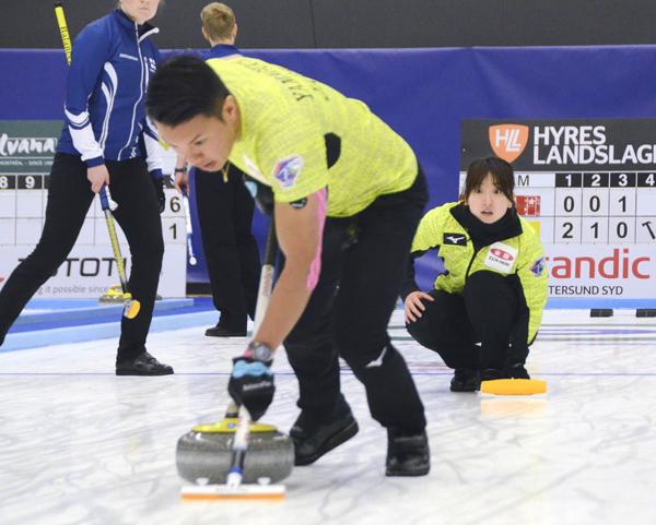 日本勢で7年ぶりに決勝トーナメント進出(C)共同通信社