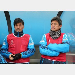 横浜FCに移籍して18年シーズンを三浦カズと一緒に戦う松井(C)Norio ROKUKAWA/Office La Stradada