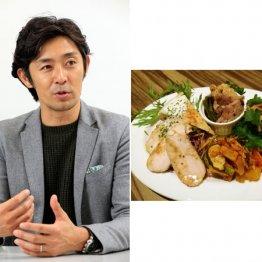 元SB投手・江尻慎太郎さん スープや根菜から先に食べる