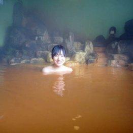 島根・三瓶温泉 コーヒー牛乳のような茶色い湯の底には…