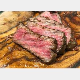 最後に肉(提供写真)