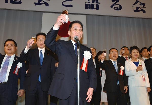 ドンが暗躍(岸田派の古賀誠名誉会長)(C)日刊ゲンダイ