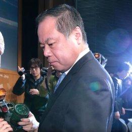 破産手続きの開始が決定し会見を開いた篠崎社長