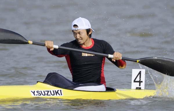 2010年の広州アジア大会に出場した鈴木康大(C)日刊ゲンダイ