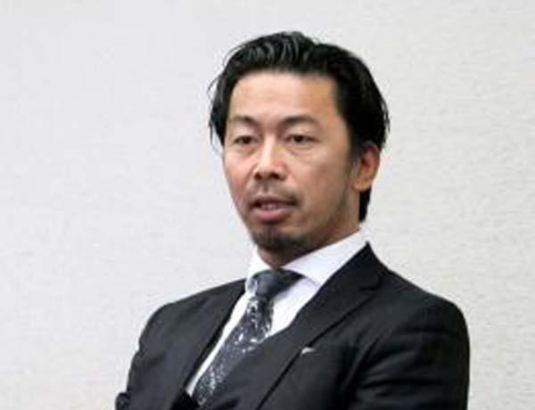 今村岳司前市長(C)共同通信社