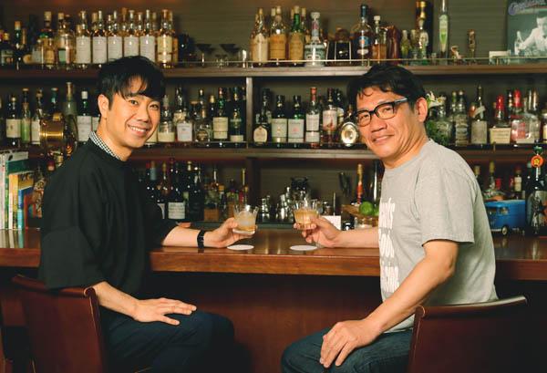 事務所も地元も経歴も違うが、親友で共通点も多い(C)日刊ゲンダイ/撮影協力・bar Rubato(銀座)