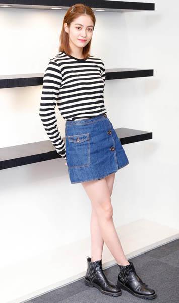 モデルとしても活躍する楓(C)日刊ゲンダイ