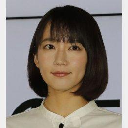 所属する吉岡里帆(C)日刊ゲンダイ