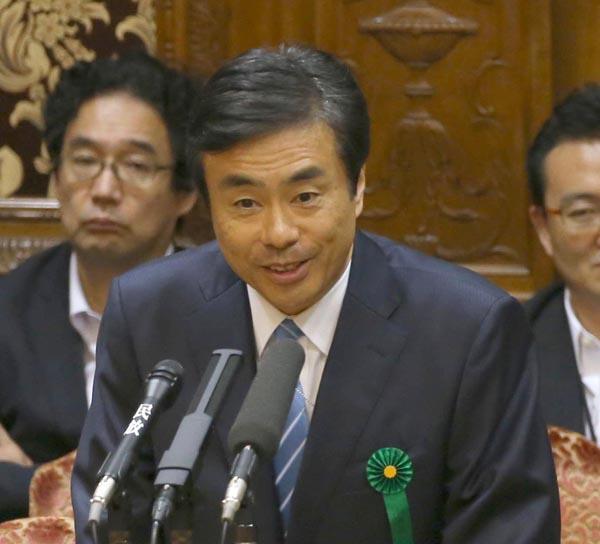 安全アウト!(柳瀬唯夫元首相秘書官)/(C)日刊ゲンダイ