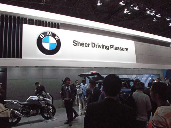 自動運転技術に力を入れるBMW(提供写真)