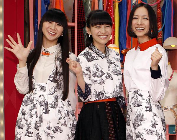 Perfumeもアナログ盤を発売(C)日刊ゲンダイ