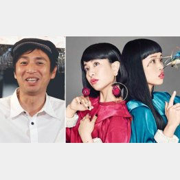 徳井義実ともも、右は姉の小春(チャラン・ポ・ランタン公式サイトから)
