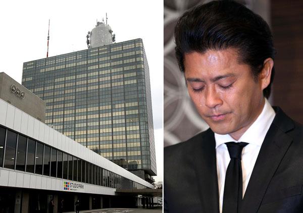 NHKは連絡先仲介を否定したが(C)日刊ゲンダイ