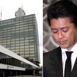 NHKは連絡先仲介を否定したが