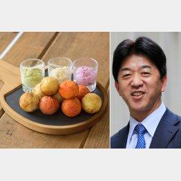 THE RALLY TABLEのピンポン・パンケーキ(C)日刊ゲンダイ