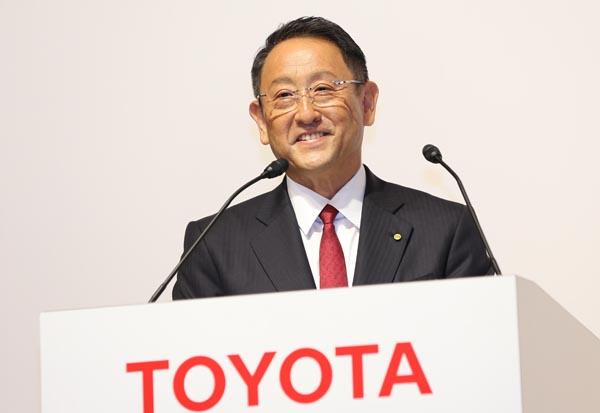 マーケットは注目(トヨタ自動車の豊田社長)/(C)日刊ゲンダイ