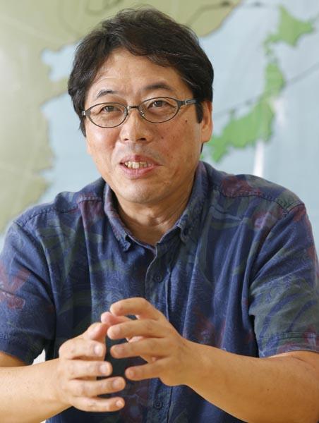 気象予報士でウェザーマップの代表取締役社長でもある(C)日刊ゲンダイ