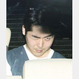 逮捕された小林遼容疑者(C)共同通信社
