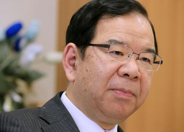 「このチャンスを絶対に逃してはならない」と語る志位和夫委員長/(C)日刊ゲンダイ