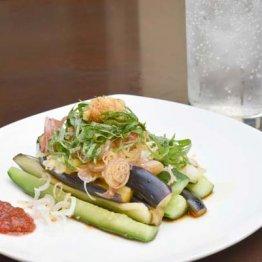 【ナスとキュウリの醤油漬け】みずみずしい夏野菜のハーモニー