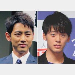 小泉孝太郎と竹内涼真(C)日刊ゲンダイ