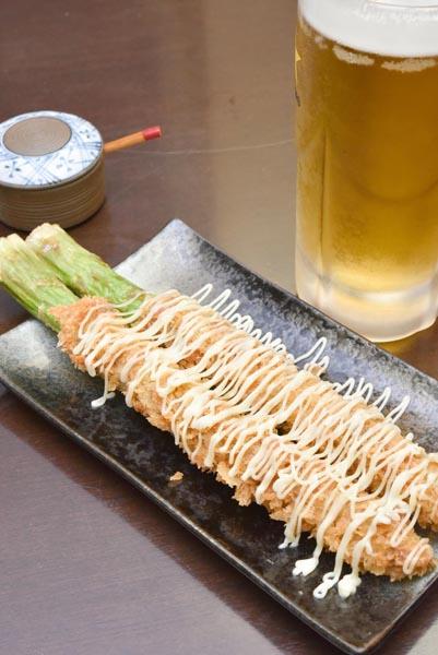 合う酒=ビール、ハイボール(C)日刊ゲンダイ