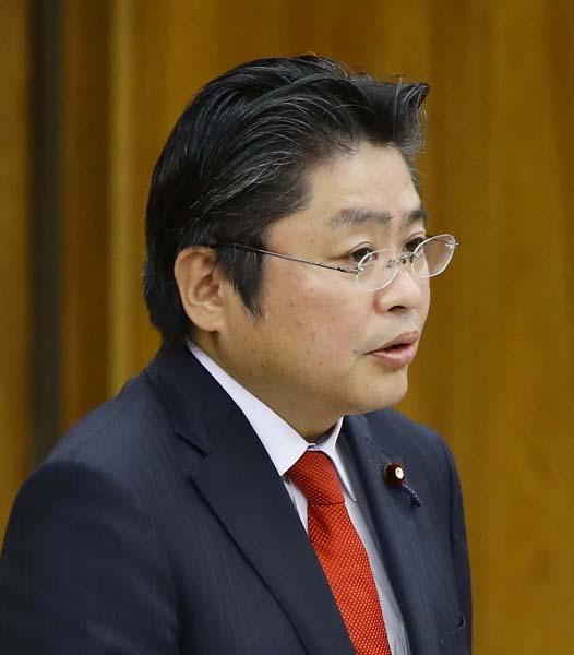 野党合同集会で発言した吉川元・社民党幹事長(C)日刊ゲンダイ