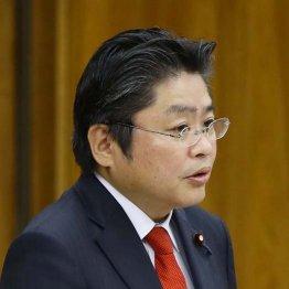 野党合同集会で発言した吉川元・社民党幹事長
