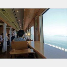 海はすぐそこ(C)日刊ゲンダイ