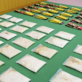相変わらず活況 大口の密輸事件が相次ぐ日本の覚醒剤市場