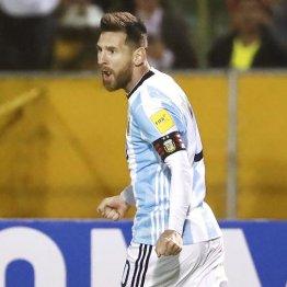 アルゼンチン代表メッシ マラドーナのように…がVへの近道
