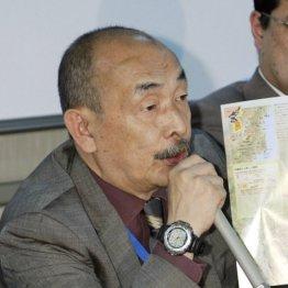 ジャーナリストの恵谷治氏