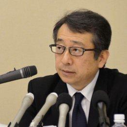 記者会見で謝罪したスルガ銀行の米山明広社長