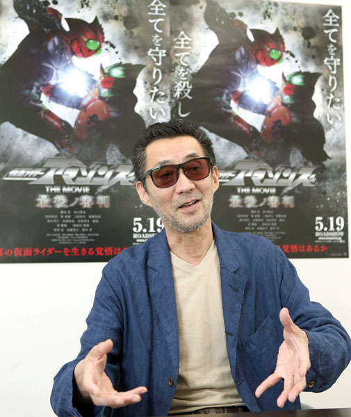 「最も充実した仕事でした」と語る石田秀範監督/(C)日刊ゲンダイ