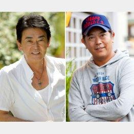 おりも政夫(左)と前田耕陽(C)日刊ゲンダイ